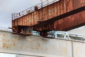 Transporte oxidado — Foto de Stock