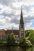 St. Alban's church — Stock Photo