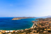 Spinalonga from the Hills — Foto de Stock