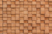 Cubic wood pattern — Stock Photo