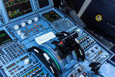 Cockpit console — Stock Photo