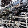 Stockfoto: Steam locomotive detail