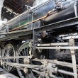 Foto Stock: Steam locomotive detail