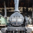 Stockfoto: Old steam locomotive
