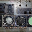 Aviation instruments board — Stock Photo