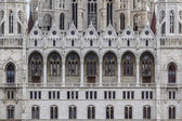 Detail of Hungarian Parliament — Stock Photo