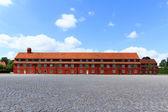 Red prison — Stock Photo