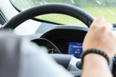 Car cockpit — Stock Photo