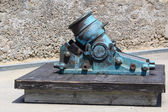 Antique mortar cannon — Stock Photo