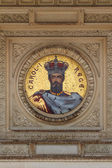 King mosaic — Stock Photo