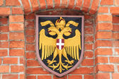 Austrian coat of arms — Stock Photo
