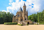 Crypt and church of the czech royal family Schwarzenberg — Stock Photo
