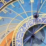 ünlü Prag astronomik saat — Stok fotoğraf