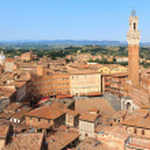 Siena main square — Stock Photo #38015453