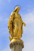 Golden Madonna of Zagreb — Stockfoto