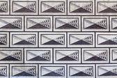 Renaissance facade pattern — Stock Photo