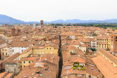 Lucca from above — Stock Photo