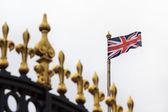 Golden fence of Buckingham Palace — Foto de Stock