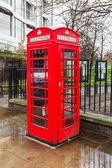 London telephone booth — Photo