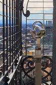 Telescope on viewing platform in Munich — Photo