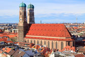 Frauenkirche v mnichově — Stock fotografie