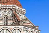 Detail of dome Santa Maria — Stock Photo