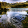 Stock Photo: Kenai River in Fall
