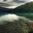 Kenai Lake with Storm Clouds — Stock Photo