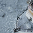 Fishing Boat in Ice — Stock Photo #13246065