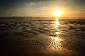 Spiaggia surreale — Foto Stock