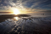 Sunset at the Beach — Stock fotografie