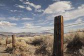 Old West Fence — Stock Photo