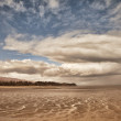 Stock Photo: Clouds at Low Tide