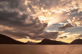 Southeast Alaska Sunset — Stock Photo
