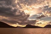 Southeast Alaska Sunset — Stock Photo