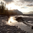 Chilkat River Storm — 图库照片