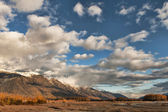 Chilkat montagnes en automne — Photo