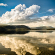 Yukon Territory Cloud Reflections — Stock Photo