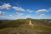 Top of the World Highway — Foto Stock