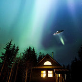 Alaskan UFO — Stock Photo