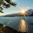 Stock Photo: Ocean Sunburst