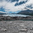 Stock Photo: MatanuskGlacier in summer