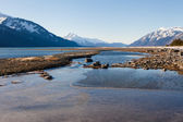 Chilkat Inlet Water — Foto de Stock