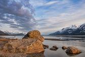 Chilkat Beach Sunset — Stock Photo