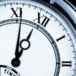 Clock face, watch closeup — Stock Photo