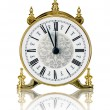 Antique Clock — Stockfoto #22599905
