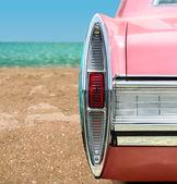 Pink Classic Car — Stock Photo