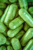 Herbal Medicine Capsules — Stock Photo