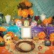 Stock Photo: Mexicday of dead altar (Dide Muertos)