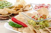 Guacamole snack — Stock Photo